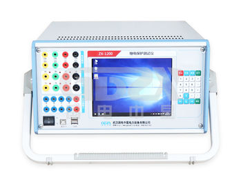 Universal Auto Testing Machine Six Phase Relay Protection Tester Warranty 1 Year